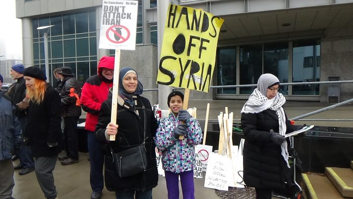 Rally, Hamilton, Ontario, Canada, From InText